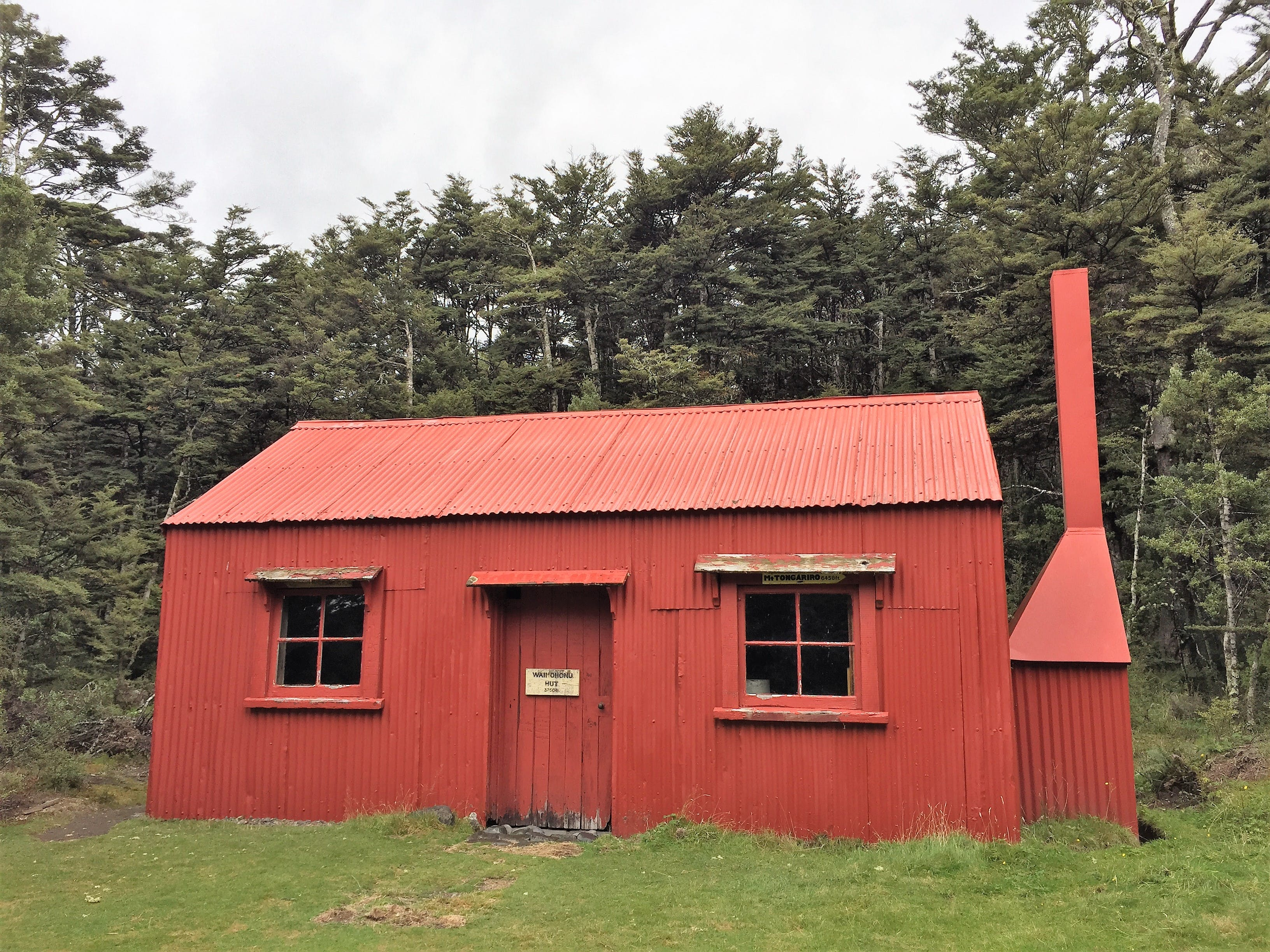 Historic Waihohonu Hut, Tongariro National Park
