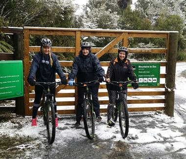 You can even bike Fishers Track in Winter! PHOTO: My Kiwi Adventures