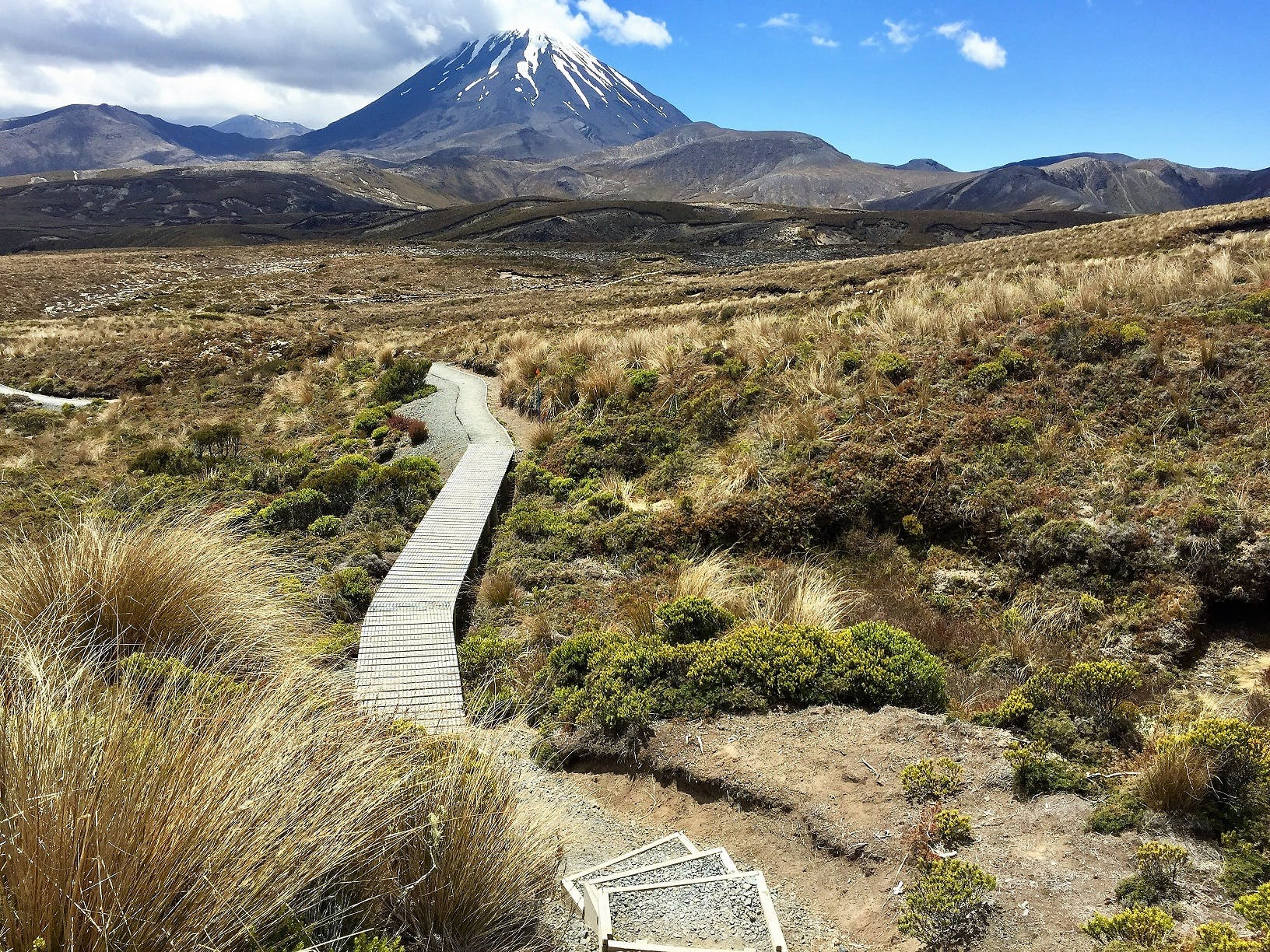 Tama Lakes Track & Mt Ngauruhoe, Tongariro National Park