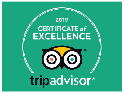 2019 TripAdvisor Certificate of Excellence Award - Tongariro Crossing Lodge