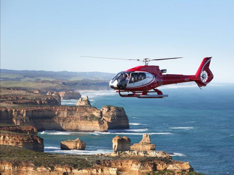 12 Apostles Helicopters scenic flights over 12 Apostles