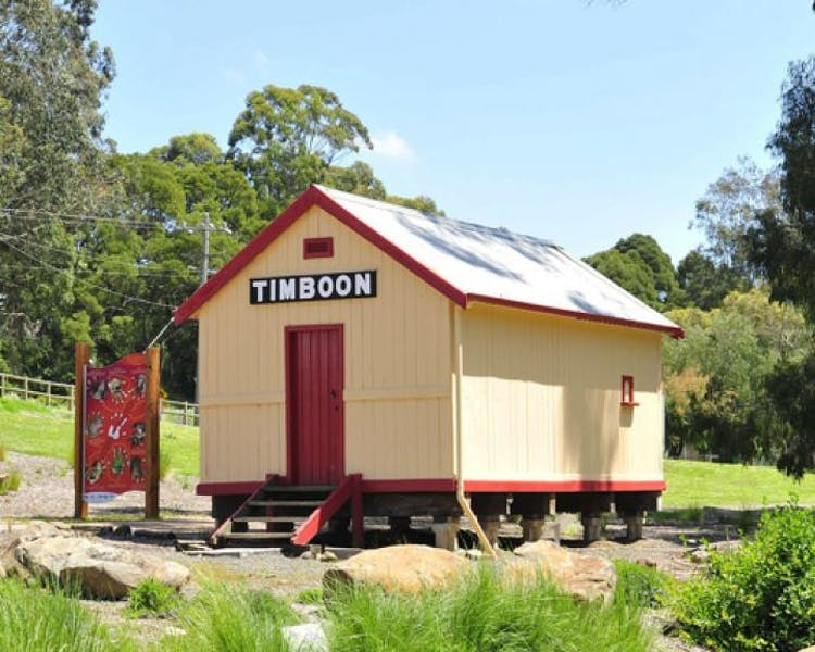 Timboon Rail Trail shed