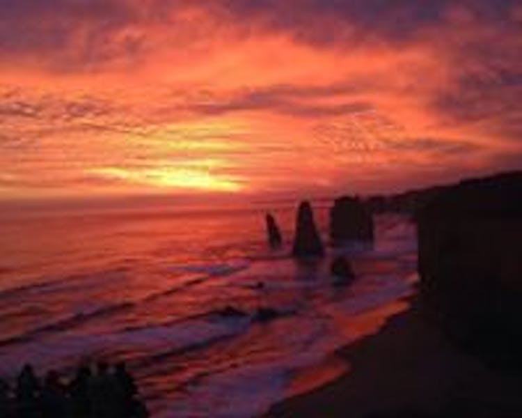 Port Campbell National Park 12 Apostles sunset
