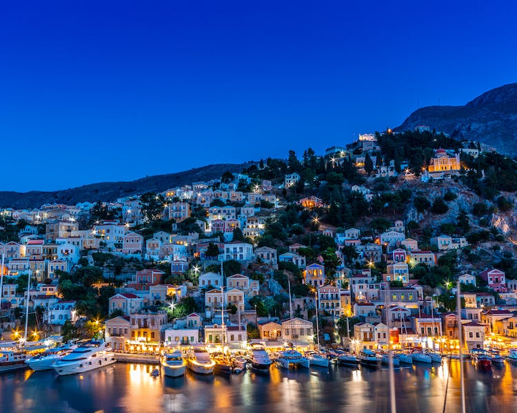 Symi - The Old Markets
