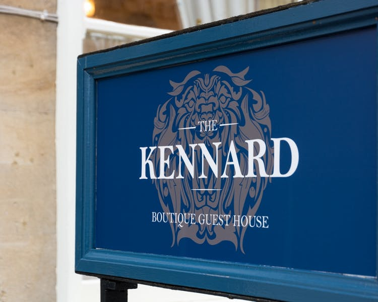 The Kennard outside sign