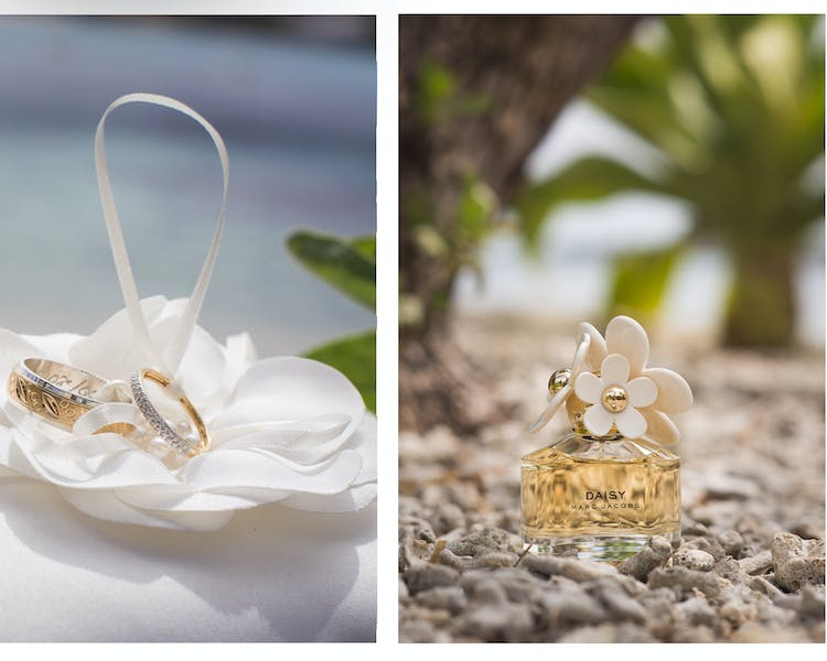 Wedding rings on tropical island Erakor Island #erakorislandndresort #tropicalislandholiday #Vanuatuaccommodation