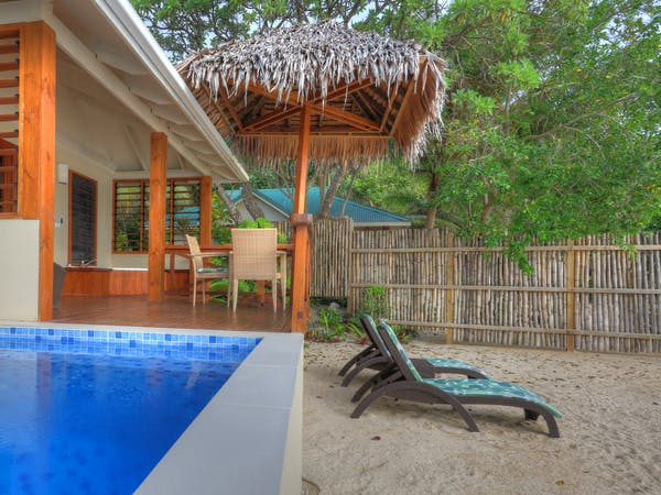 erakor island resort honeymoon pool villa #erakorislandresort #vanuatuholidays #Vanuatuaccommodation #tropicalislandholiday