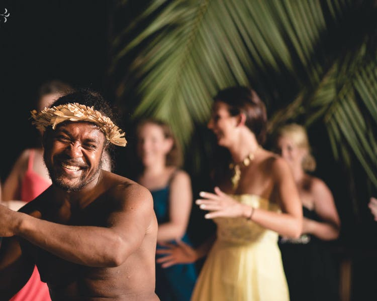Melanesian Feast & Fire Show every Thursday Night Calypso Beach erakor island resort Vanuatu