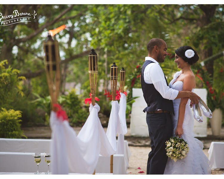 Erakor Island Open Air Chapel - the oldest in the South Pacific #erakorbeachweddings #weddingceremonyonthebeachsouthpacific