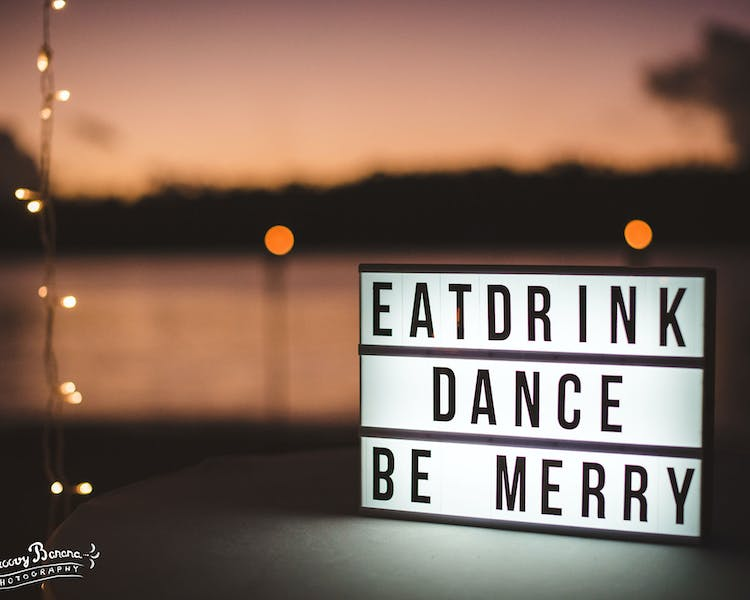 Get your guests in the mood to celebrate with you #erakorbeachweddings #weddingreceptionthebeachsouthpacific