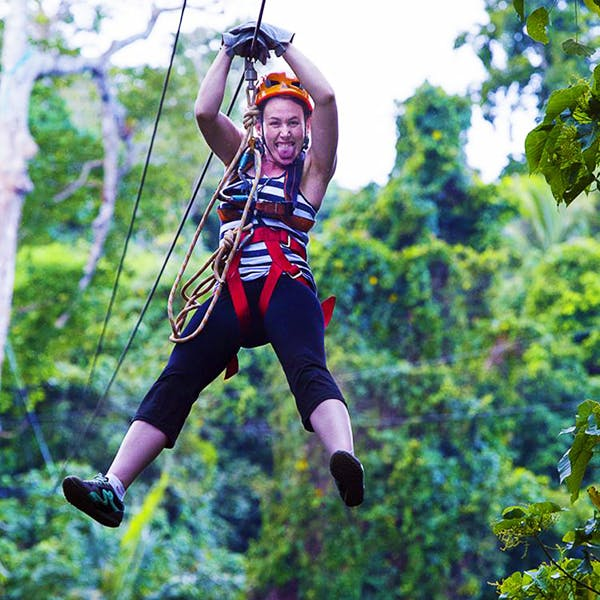 jungle zipline tour