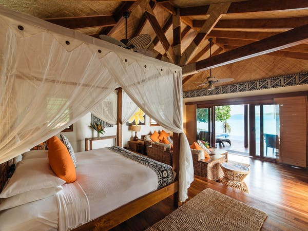 erakor island resort deluxe honeymoon pool villa master #erakorislandresort #tropicalislandholiday #Vanuatuaccommodation
