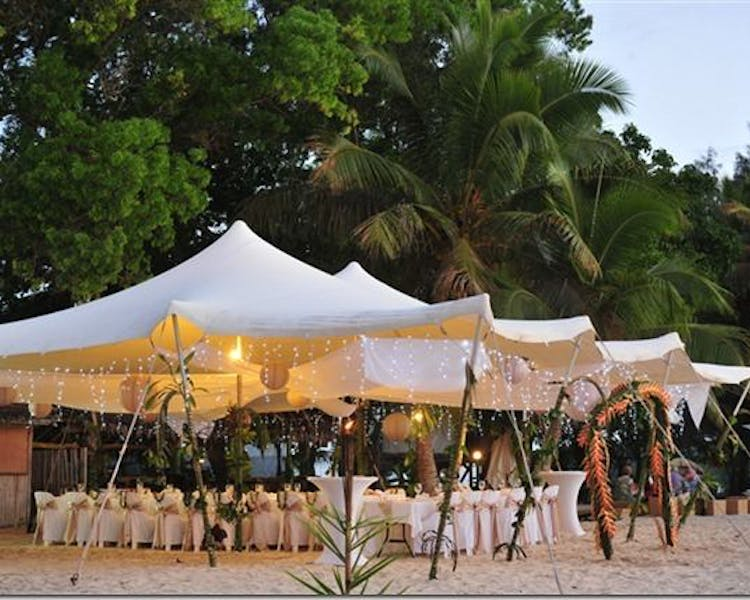 Calypso Beach Wedding Reception #erakorbeachweddings #weddingreceptionthebeachsouthpacific #Vanuatu