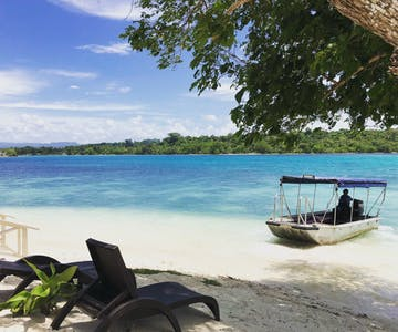 private beach island resort Vanuatu #erakorislandresort #tropicalislandholiday #Vanuatuaccommodation