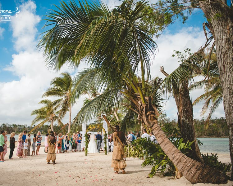 Erakor Island Coconut Beach #erakorbeachweddings #weddingceremonyonthebeachsouthpacific #Vanuatutropicalbeachweddings