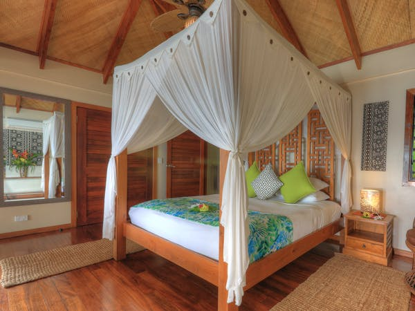 erakor island resort deluxe honeymoon pool villa #erakorislandresort #tropicalislandholiday #Vanuatuaccommodation