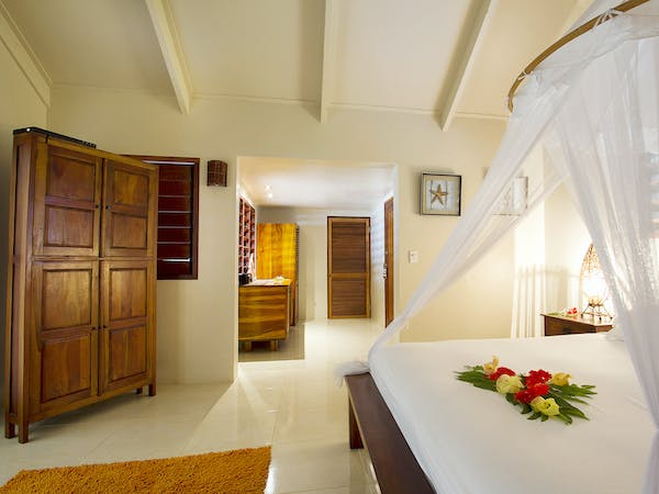 Beachfront Deluxe Spa Villa erakor island resort & spa #erakorislandresort #vanuatuholidays