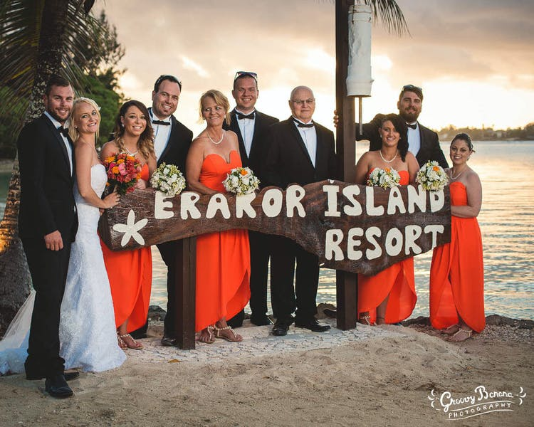 Erakor Island Resort most popular wedding destination in Vanuatu #erakorbeachweddings #weddingceremonyonthebeachsouthpacific