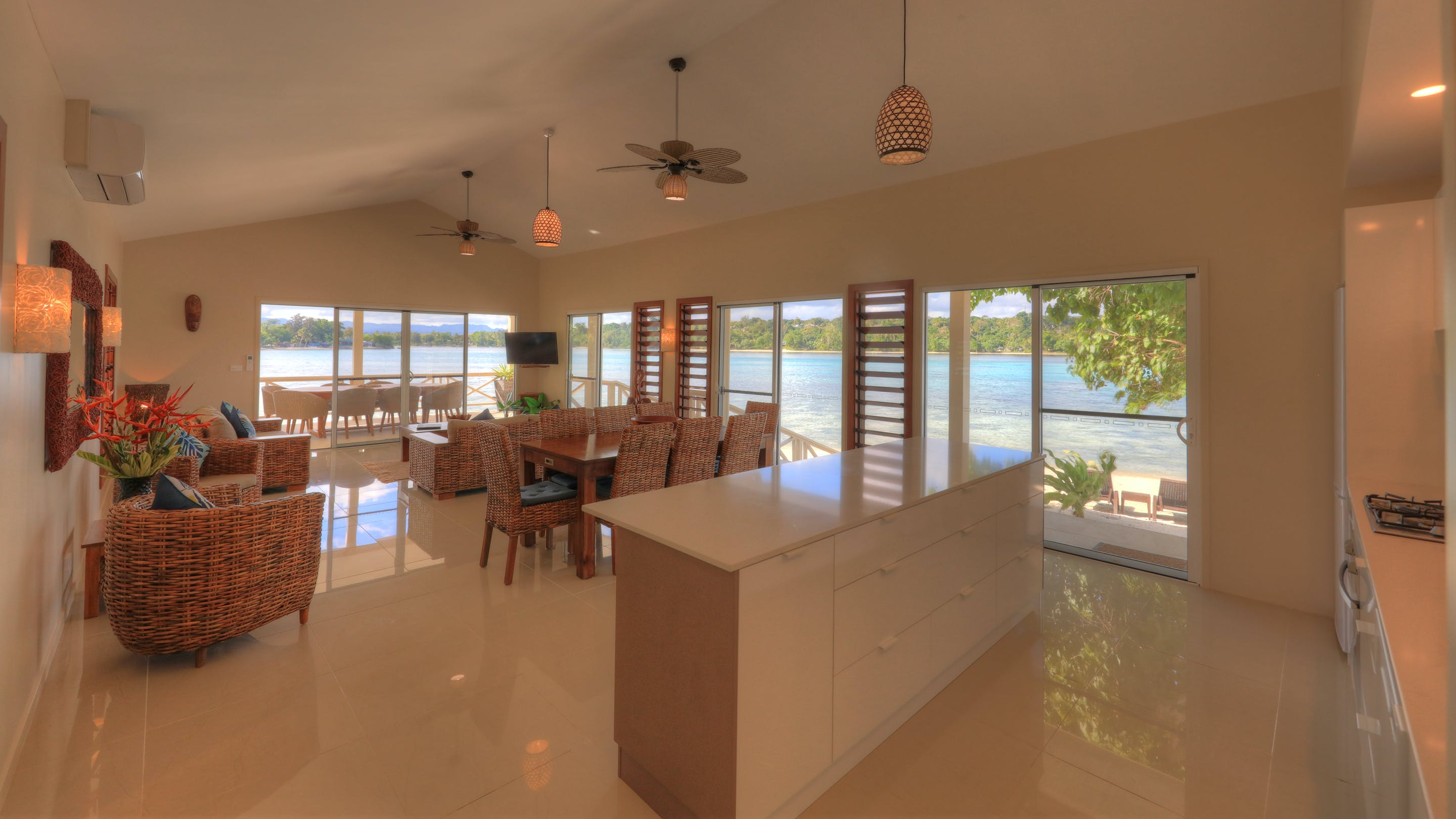 erakor island resort beach cottage kitchen #erakorislandresort #tropicalislandholiday #Vanuatuaccommodation