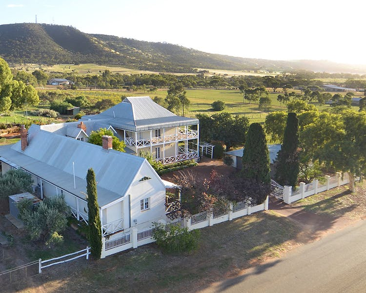 Hope Farm Guesthouse aerial view