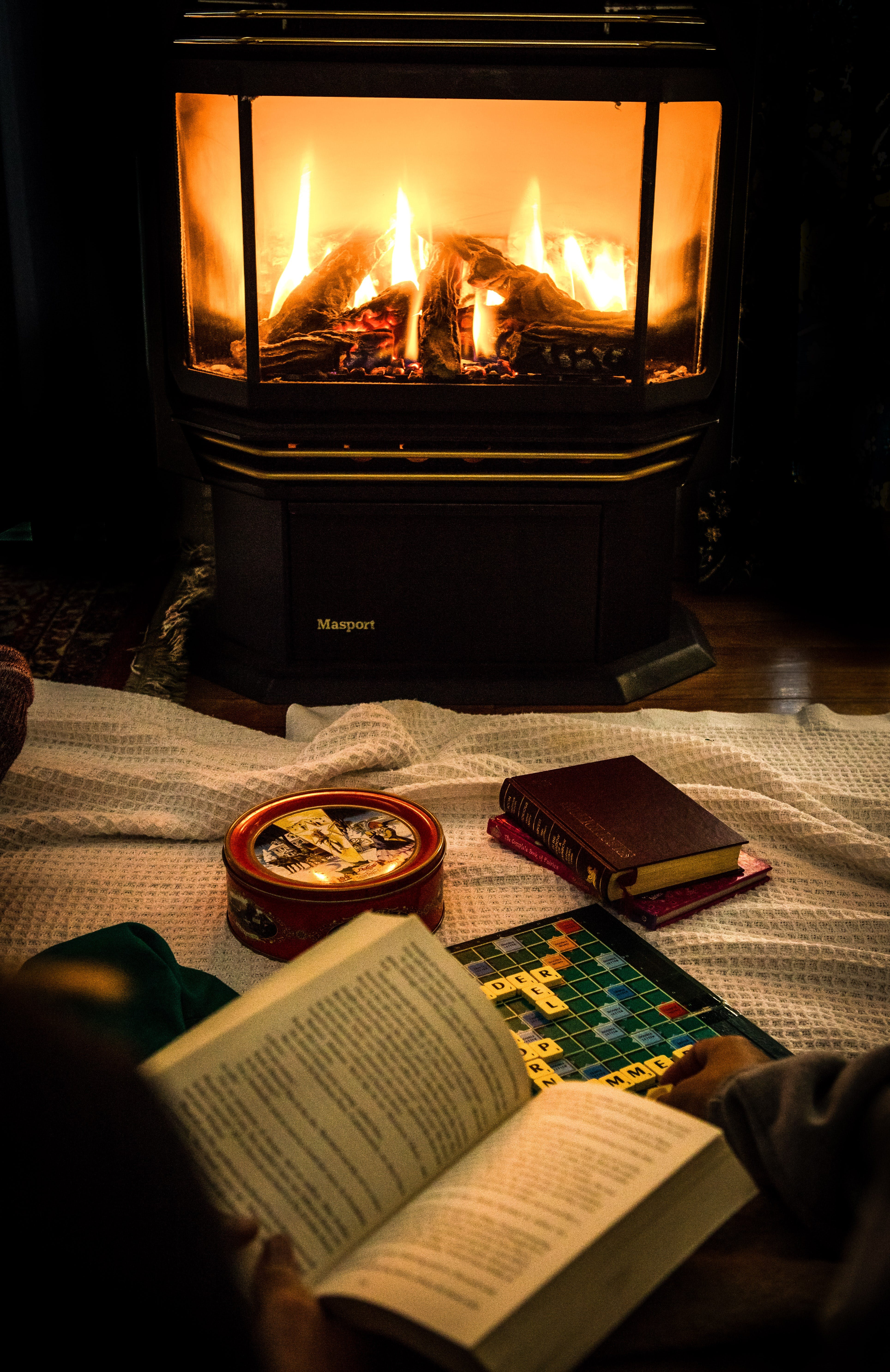Cosy nights around the fire