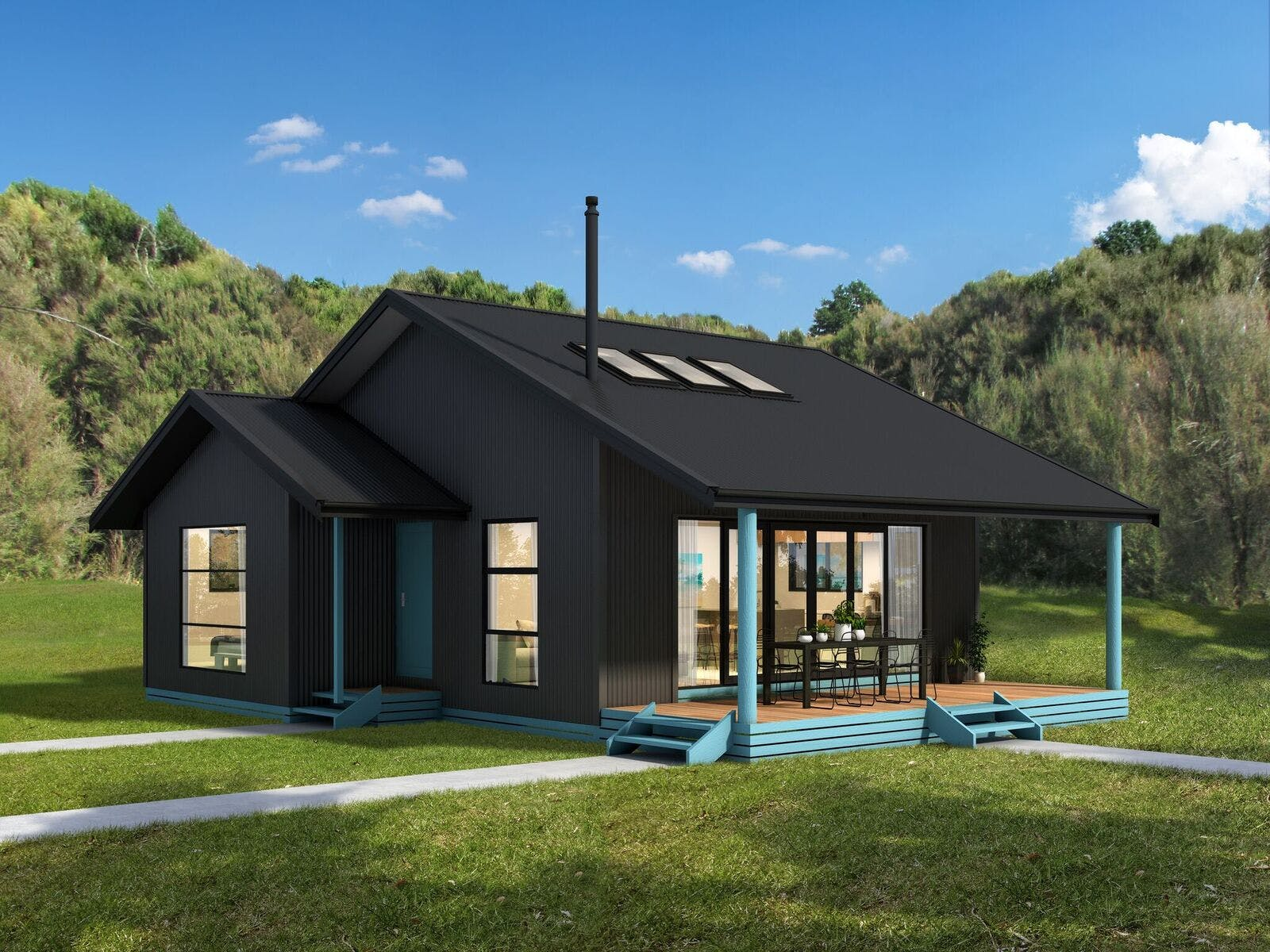 Artists impression of the cottage