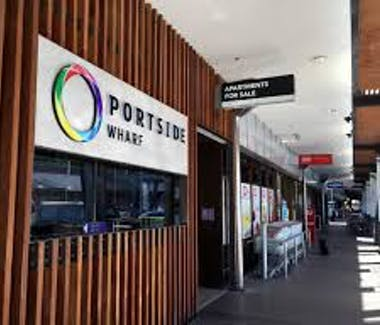 Portside Wharf is walking distance from the Airport International Hotel Brisbane