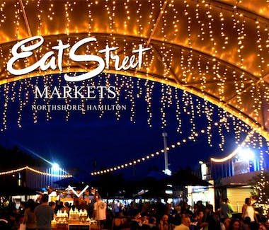 Eat Street Markets and dining is located a 5 minute walk from the Hotel