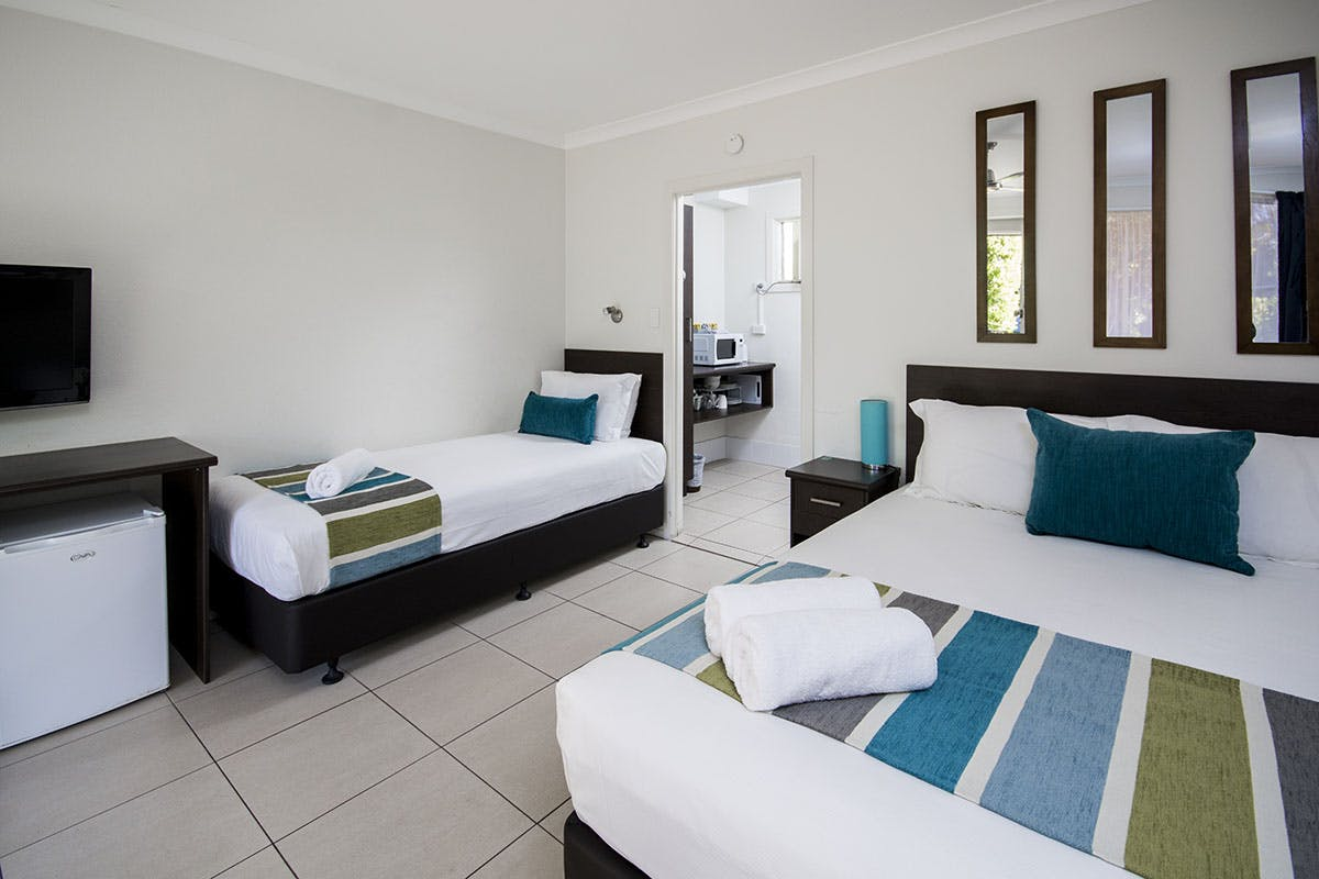 Hervey Bay beach front accommodation
