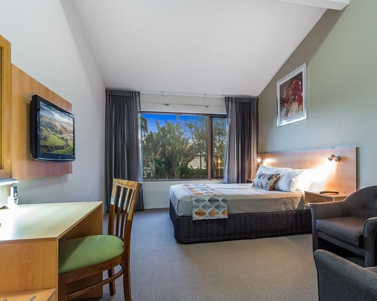 Comfortable rooms for a stopover in Brisbane