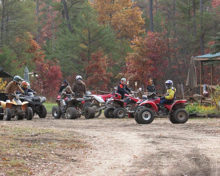 Best ATV riding starts at Best Bear Lodge & Campground