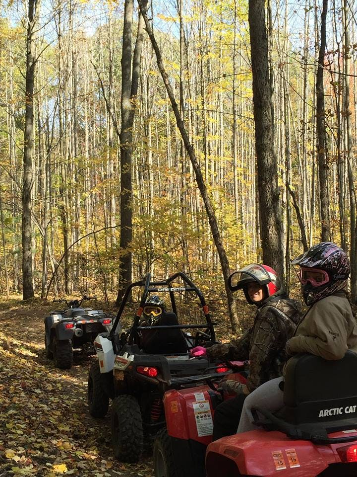 We have the best orv trails in the Baldwin Mi, USA Area