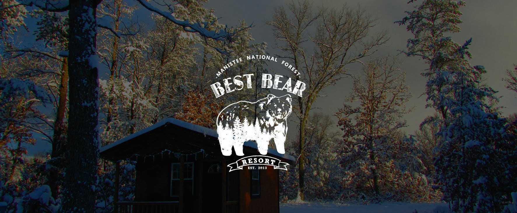 Best Bear Lodge & Campground Baldwin/Irons Area