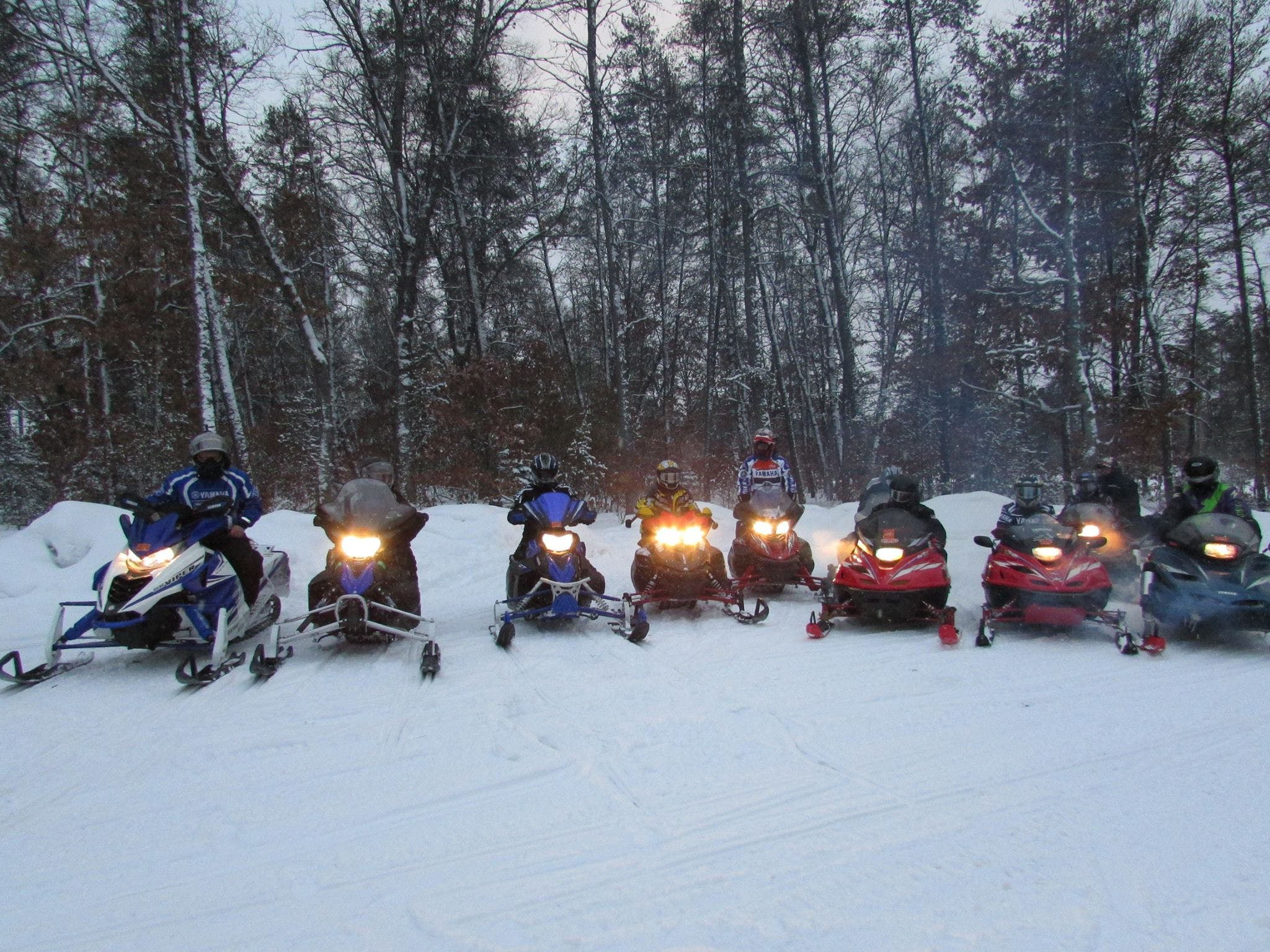 winter accommodations and direct snowmobile trail access make us popular at Best Bear Lodge & Campground