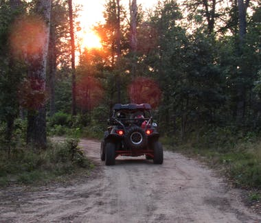 ORV Riding at Best Bear Lodge & Campground Accommodations