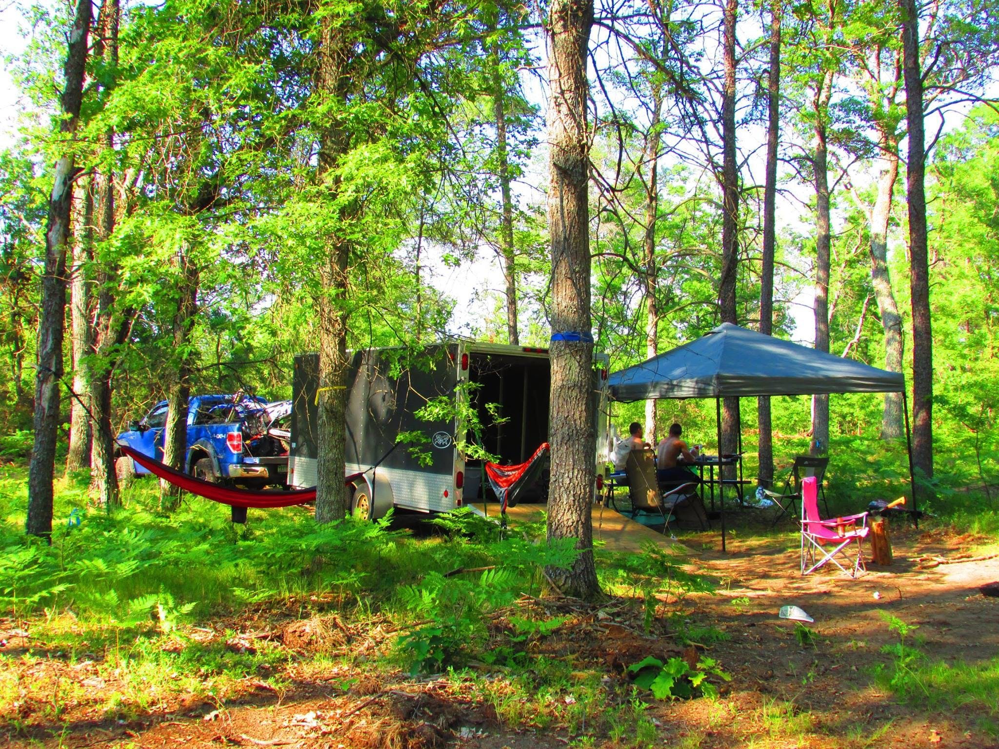 camping at Best Bear Lodge and Campground