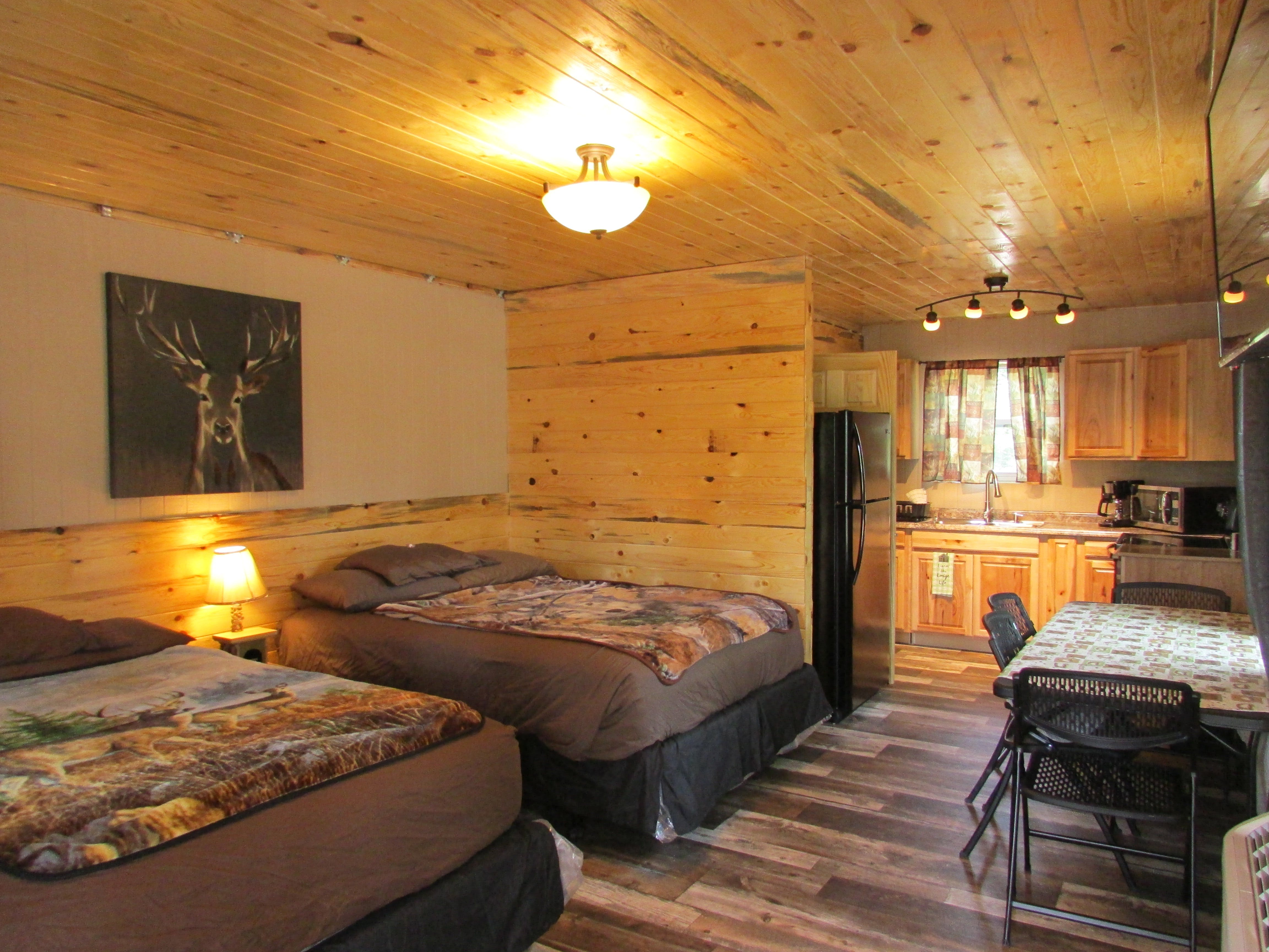 Best Bear premium Hotel accommodations with full kitchens Baldwin, Michigan