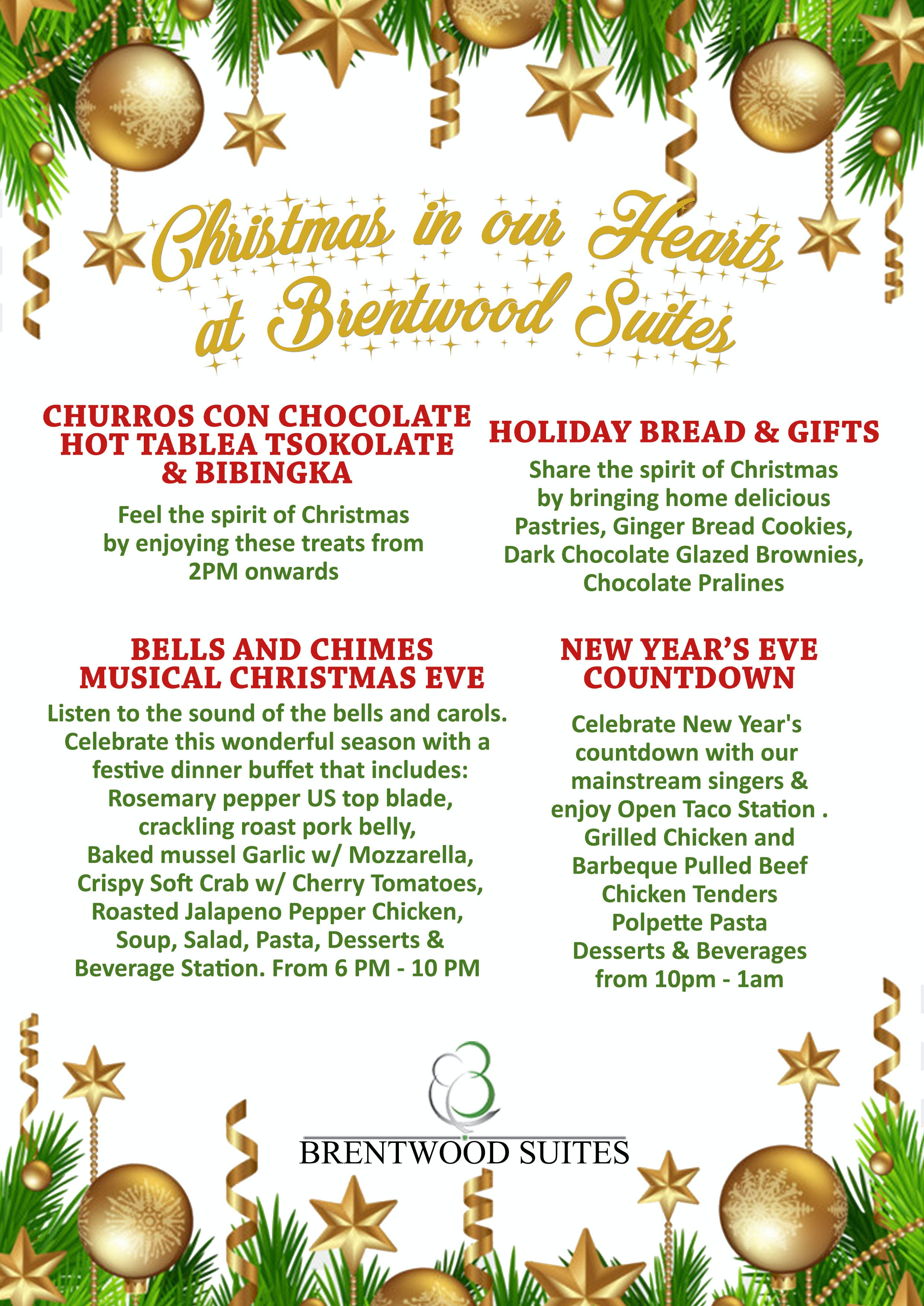 Christmas in our Hearts at Brentwood Suites | Brentwood Suites