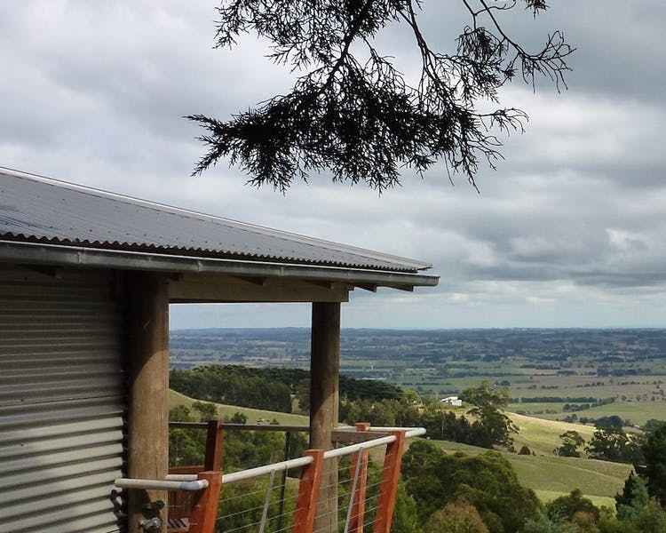 Anderley Taronga Cottage setting in Gippsalnd