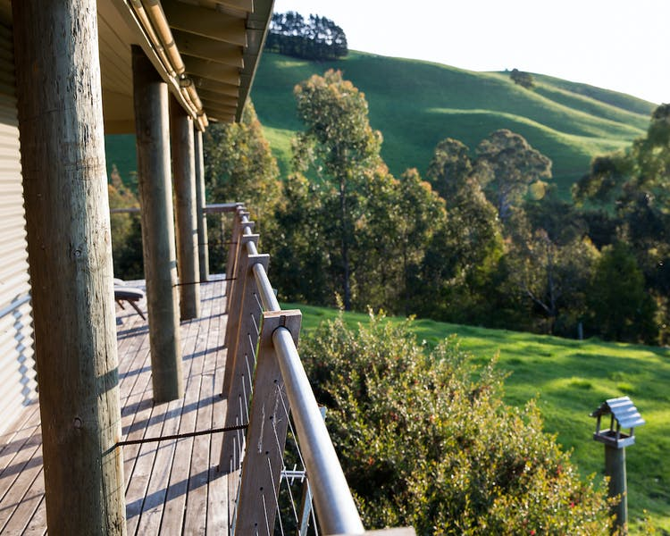 Views from the Deck of Tandara in Gippsland
