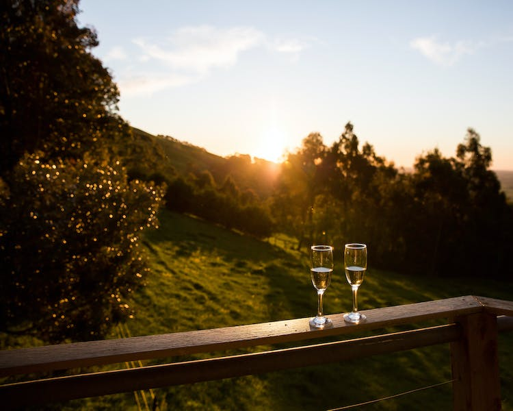 Romantic Sunsets at Anderley in Gippsland