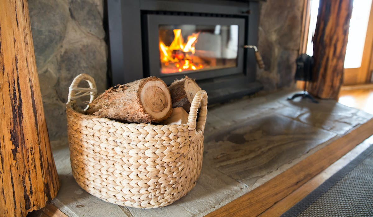 Anderley Cottages have plenty of firewood for your cosy fire in winter