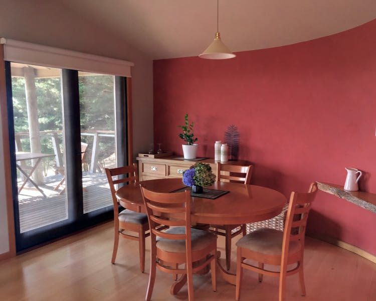 Dining area in Taronga at Anderley in Gippsland