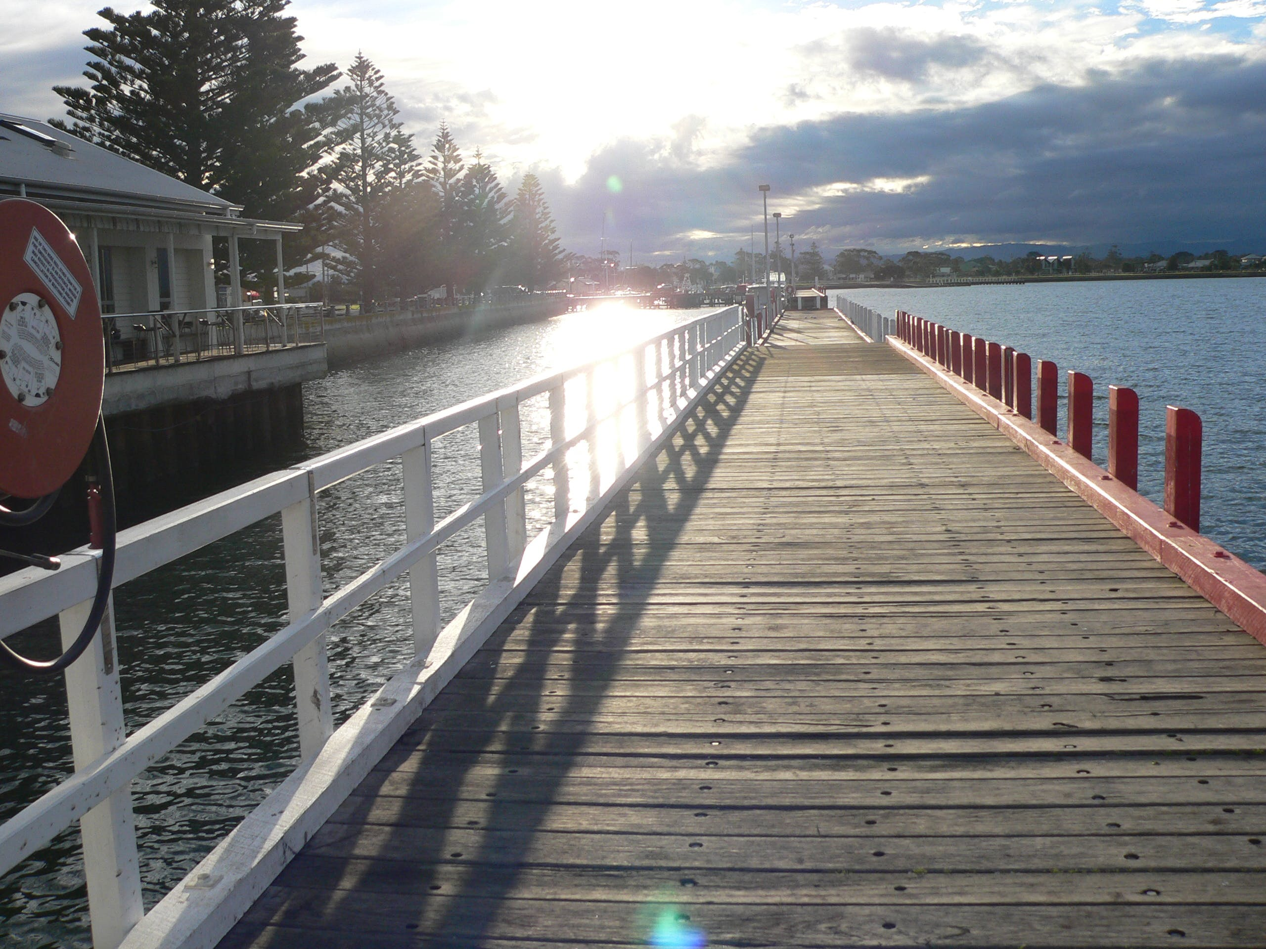Pier at Port Albert