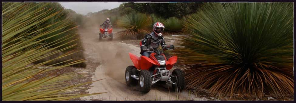 #Quad bike adventures at Vivonne Bay