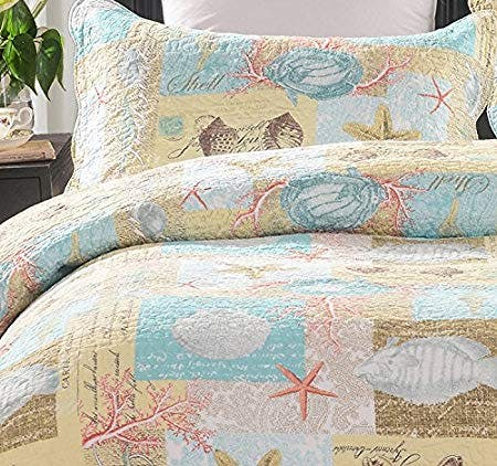 upgraded beach accent bedding