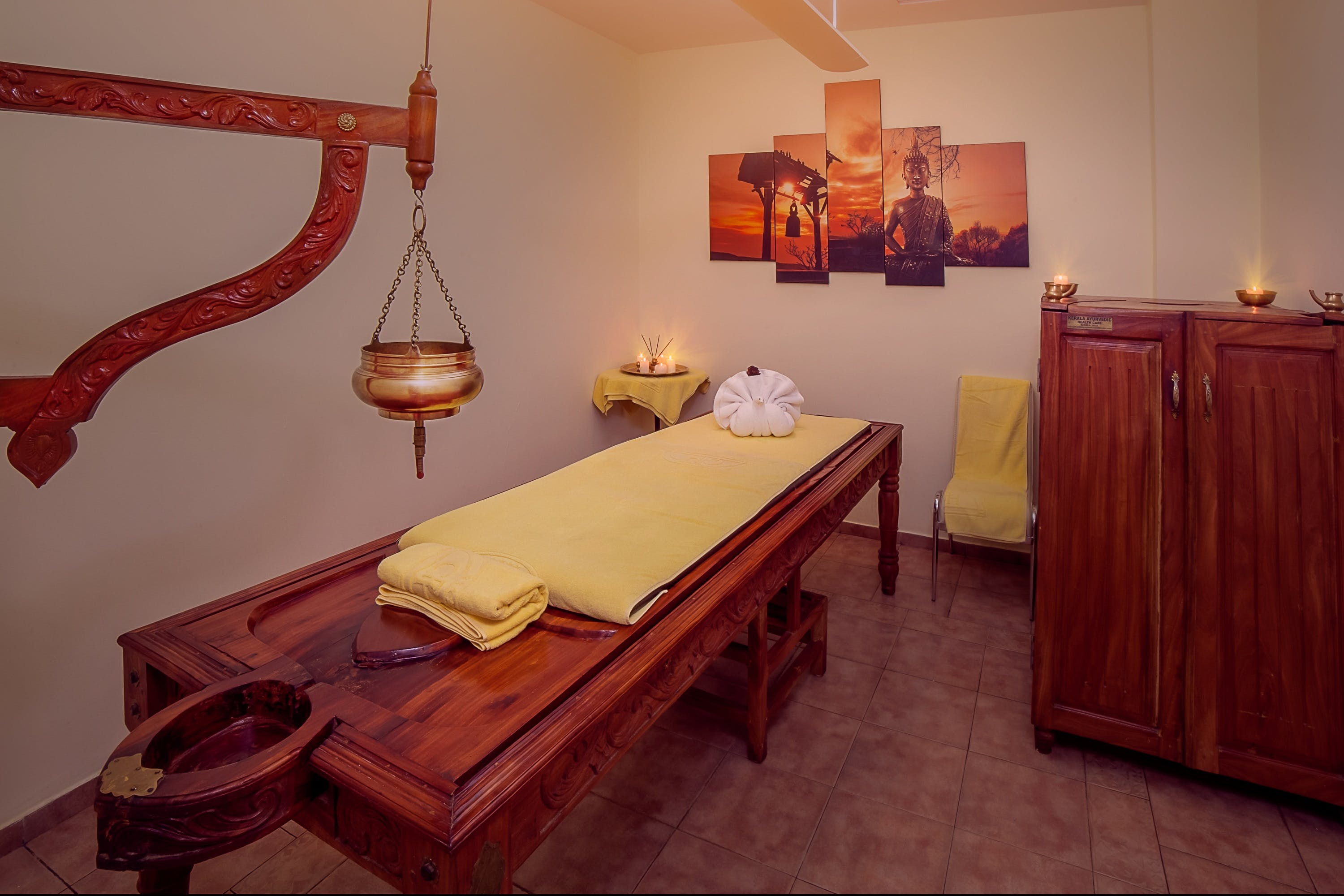 Ayurveda Treatment ROom