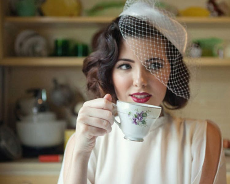 Vintage Afternoon Tea Bride