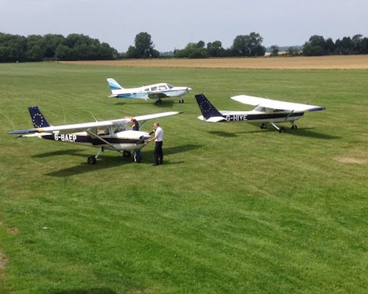 Sibson Airfield local to Queens Head Inn