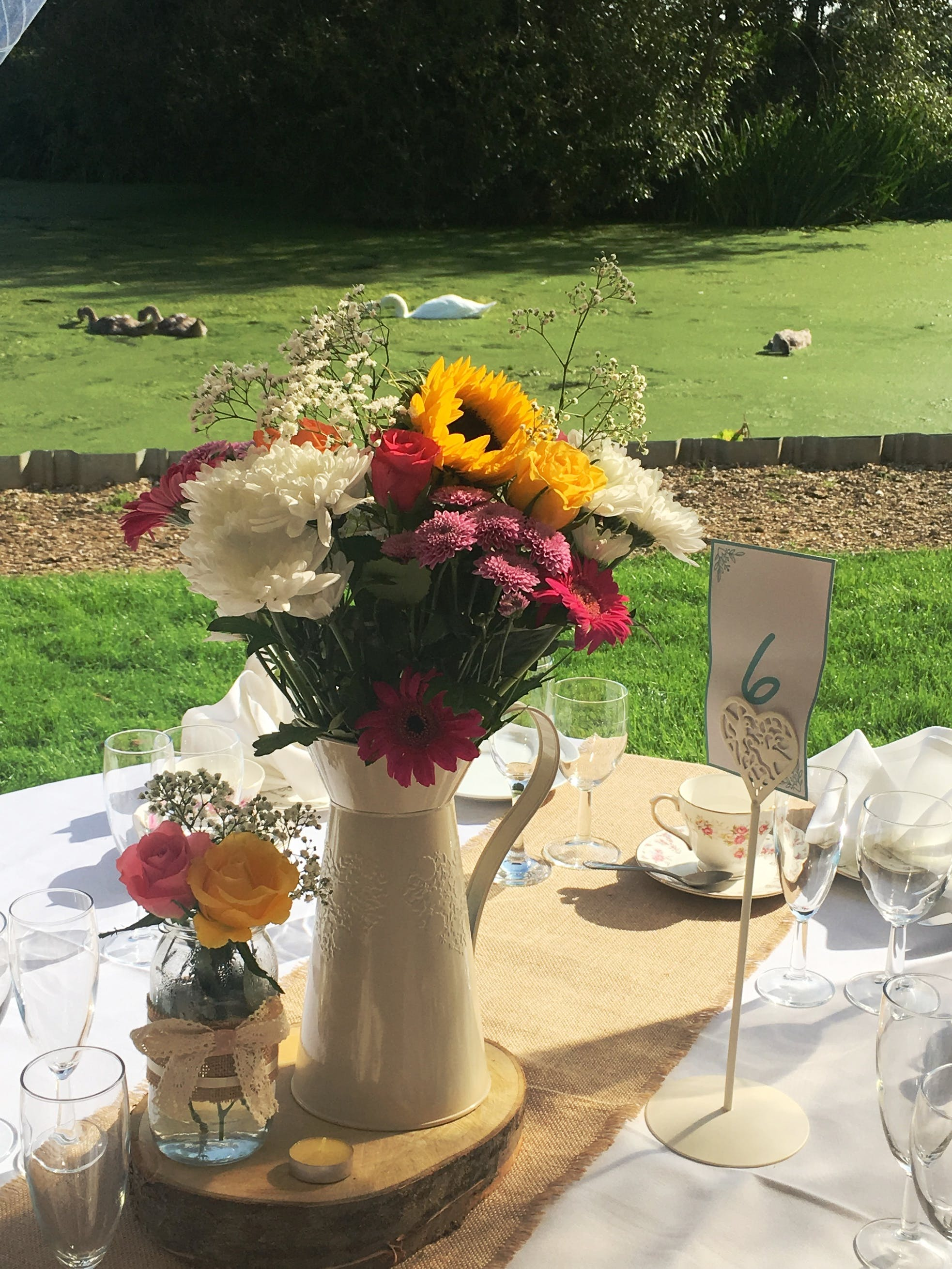Queens Head Inn Vintage Afternoon Tea wedding along the River Nene